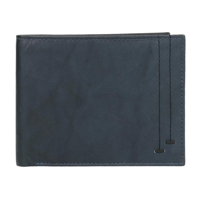 Pánská kožená peněženka modrá bata, modrá, 944-9183 - 15