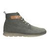 Kožená kotníčková obuv pánská weinbrenner, šedá, 846-2656 - 26
