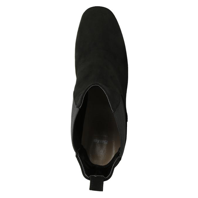 Kotníčkové kozačky na podpatku bata, černá, 793-6704 - 15