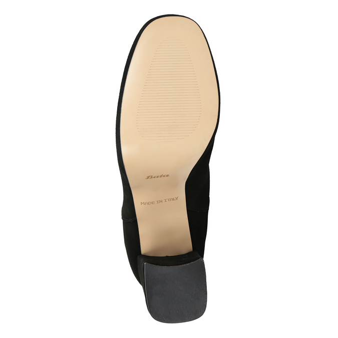Kotníčkové kozačky na podpatku bata, černá, 793-6704 - 17