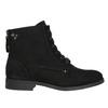 Kotníčková dámská obuv bata, černá, 599-6617 - 15