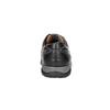 Pánské kožené tenisky bata, černá, 824-6921 - 17