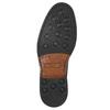 Hnědé ležérní polobotky z kůže bata, hnědá, 826-4914 - 19