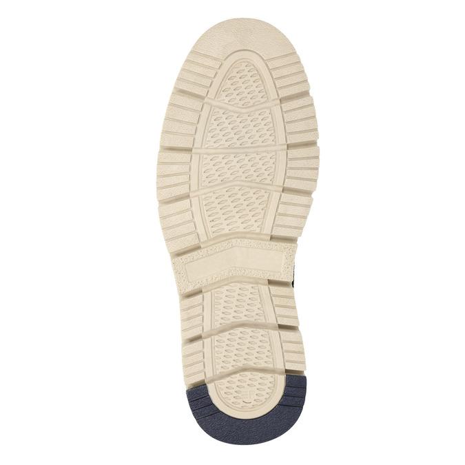 Kotníčková pánská obuv s výraznou podešví weinbrenner, šedá, 846-2657 - 17