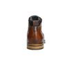 Kožená kotníčková obuv hnědá bata, hnědá, 896-3674 - 17