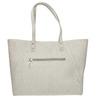 Béžová kabelka se stříbrnými detaily bata, šedá, 969-2669 - 26