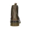Dámská kožená Chelsea obuv bata, hnědá, 596-7680 - 16