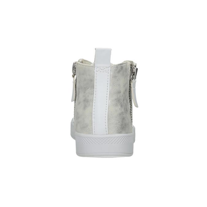 Bílé kotníčkové tenisky, bílá, 501-1172 - 16