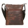 Pánská kožená Crossbody taška bata, hnědá, 964-4140 - 17