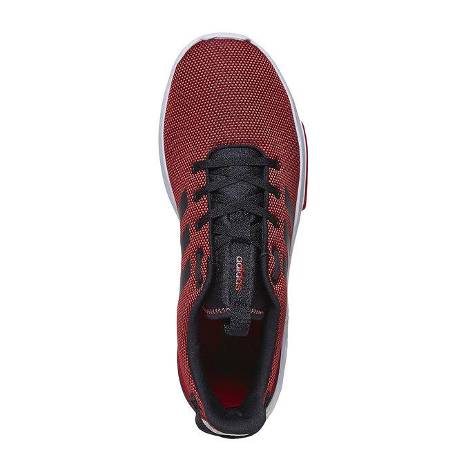 Červené pánské tenisky adidas, červená, 809-5201 - 19