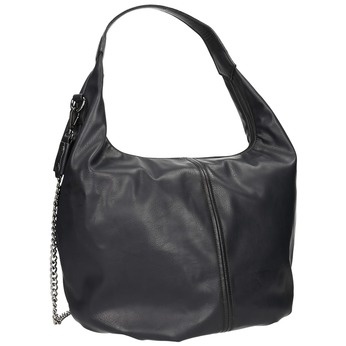Hobo kabelka s řetízkem bata, černá, 961-6765 - 13