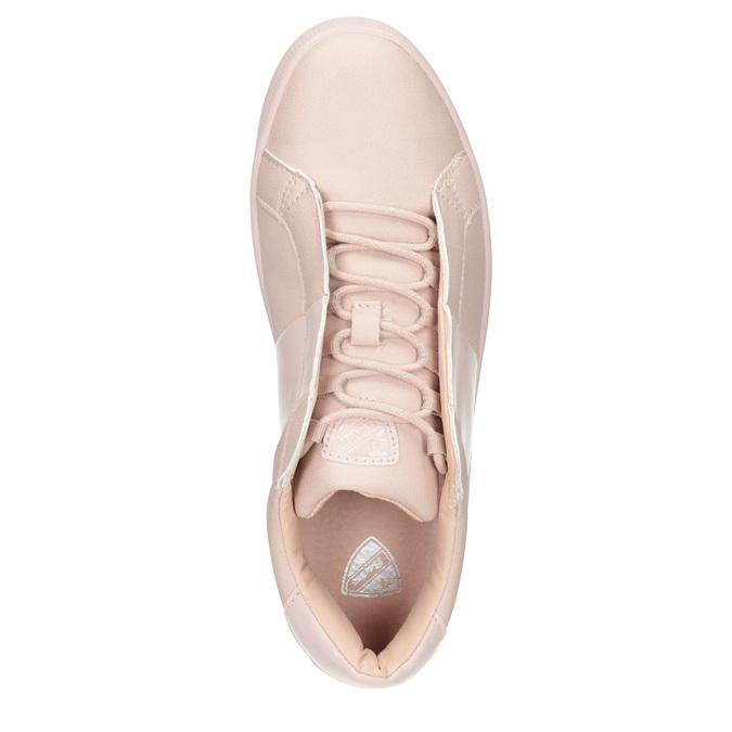 Růžové dámské tenisky, růžová, 501-5171 - 15