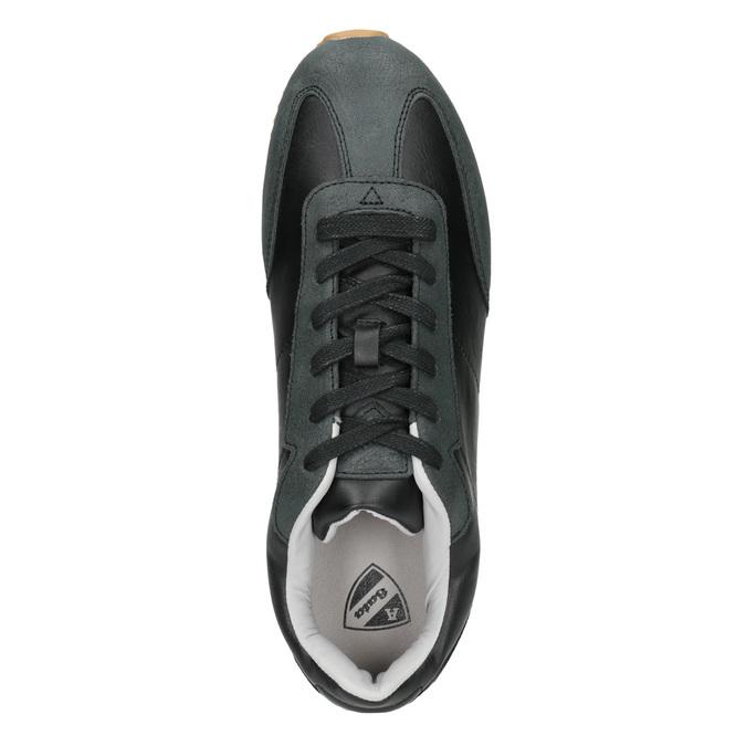 Pánské ležérní tenisky atletico, černá, 801-6180 - 15