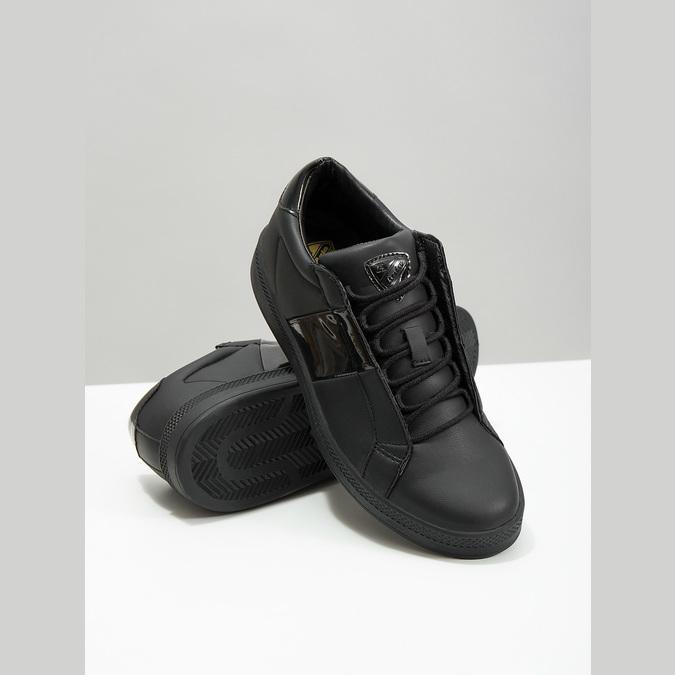 Černé dámské tenisky atletico, černá, 501-6171 - 18