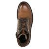 Kožená kotníčková obuv bata, hnědá, 896-3663 - 26