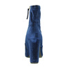 Sametové modré kozačky steve-madden, modrá, 719-9017 - 16