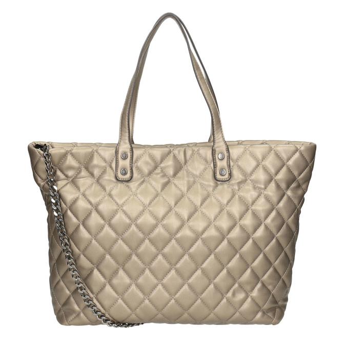 Prošívaná dámská kabelka bata, hnědá, 961-4139 - 16