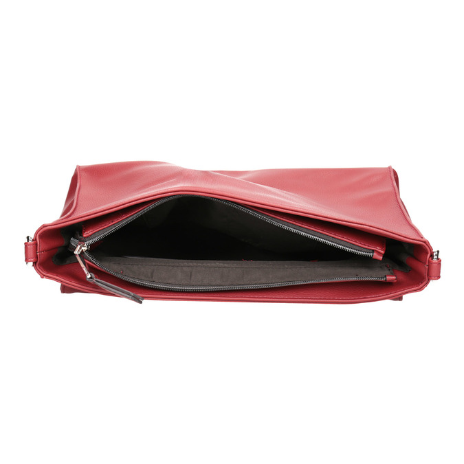 Červené psaníčko s řetízkem bata, červená, 961-5164 - 15