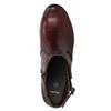 Kotníčková obuv šíře H bata, červená, 696-5625 - 26