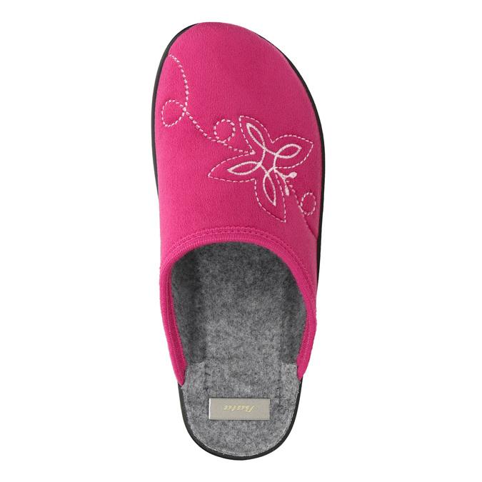 Růžové dámské pantofle bata, růžová, 579-5621 - 26