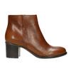 Kotníčková obuv na stabilním podpatku bata, hnědá, 694-4642 - 15