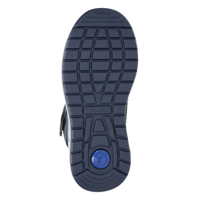 Dětská zimní obuv mini-b, modrá, 293-9615 - 19