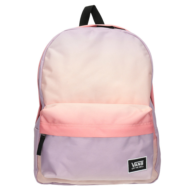 Dámský pastelový Ombré batoh vans, červená, 969-5079 - 26