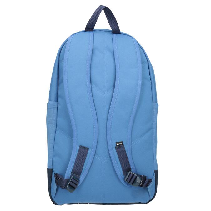 Modrý batoh s červenou kapsou vans, modrá, 969-9095 - 16