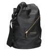 Dámská kabelka s popruhem cafe-noir, černá, 961-6093 - 13