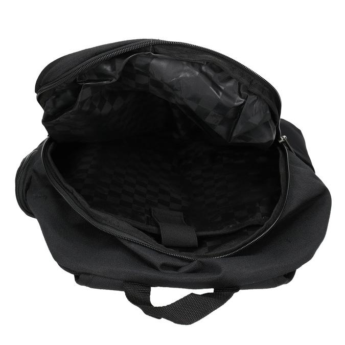 Černý batoh s přezkami vans, černá, 969-6098 - 15