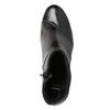 Kožená kotníčková obuv na podpatku bata, šedá, 796-2650 - 15