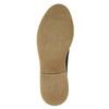 Pánské kožené Derby polobotky bata, černá, 826-6620 - 19