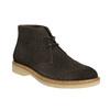 Dámské kožené Desert Boots bata, hnědá, 593-4608 - 13