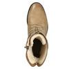 Kožené šněrovací boty dámské bata, hnědá, 596-4663 - 15