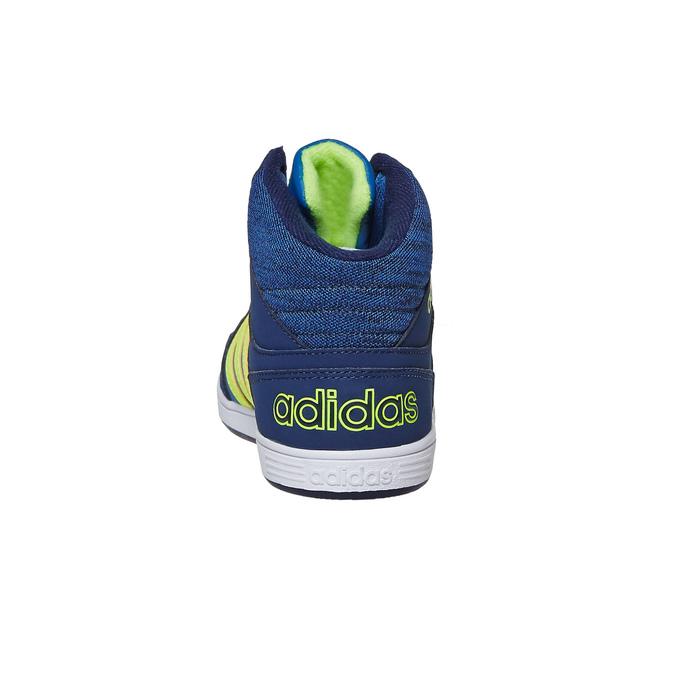 Dětské kotníčkové tenisky adidas, modrá, 401-9291 - 17