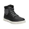 Zimní dětská obuv mini-b, černá, 491-6652 - 13