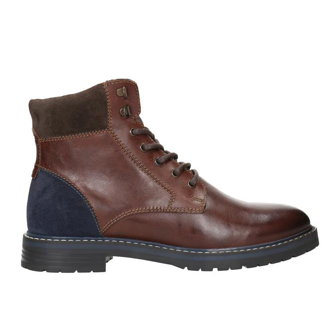 Kotníčková pánská obuv bata, hnědá, 896-4689 - 26