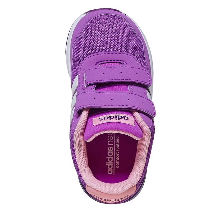 Dětské fialové tenisky adidas, fialová, 109-5157 - 19