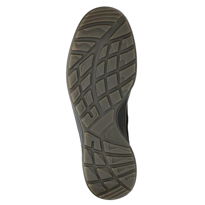 Kožená pánská obuv weinbrenner, hnědá, 846-4647 - 17
