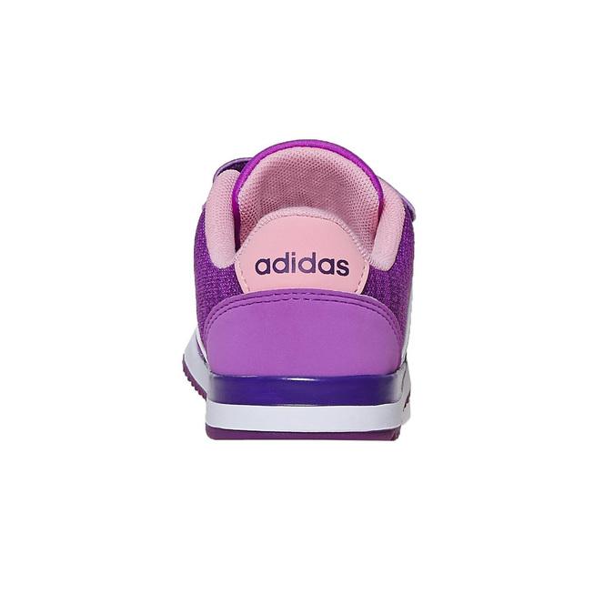 Dětské fialové tenisky adidas, fialová, 109-5157 - 17