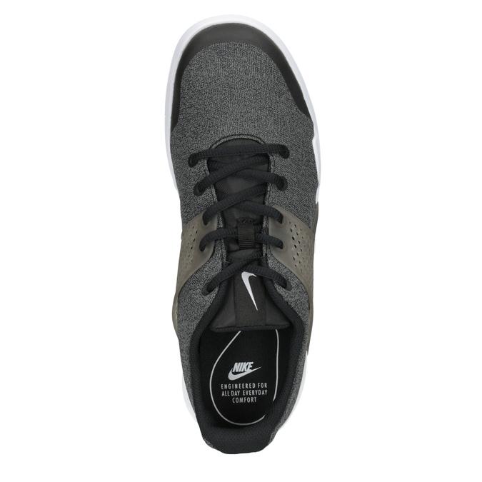 Pánské tenisky s výraznou podešví nike, černá, 809-6185 - 15