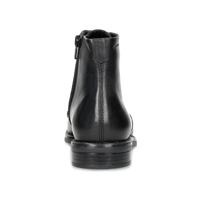 Kožená kotníčková dámská obuv vagabond, černá, 524-6010 - 15