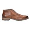 Kožená pánská kotníčková obuv bugatti, hnědá, 826-3005 - 26