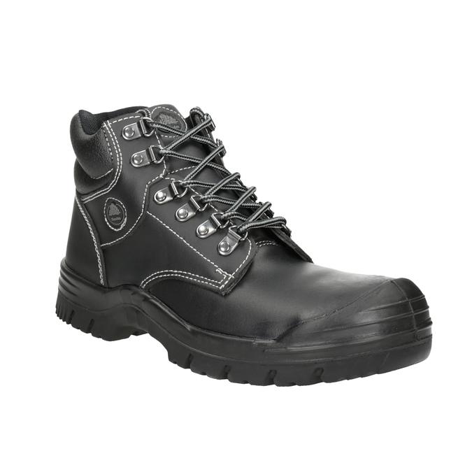 Pánská pracovní obuv Stockholm 2 KN S3 bata-industrials, černá, 844-6645 - 13