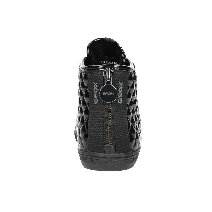 Dámské kotníčkové tenisky geox, černá, 521-6047 - 16