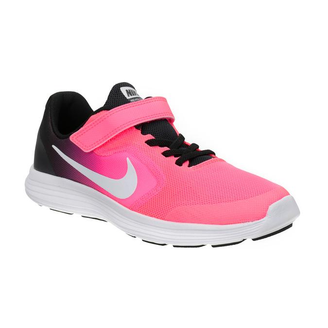 Růžové dívčí tenisky nike, červená, 309-5132 - 13