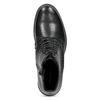 Kožená kotníčková dámská obuv vagabond, černá, 524-6010 - 17