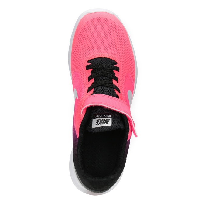 Růžové dívčí tenisky nike, červená, 309-5132 - 15