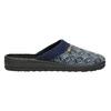 Pánská domácí obuv bata, modrá, 879-9611 - 15