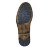 Hnědá kožená kotníčková obuv bata, hnědá, 896-3684 - 19